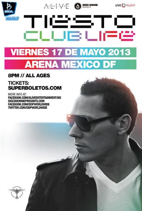 Tiësto Arena Ciudad de México