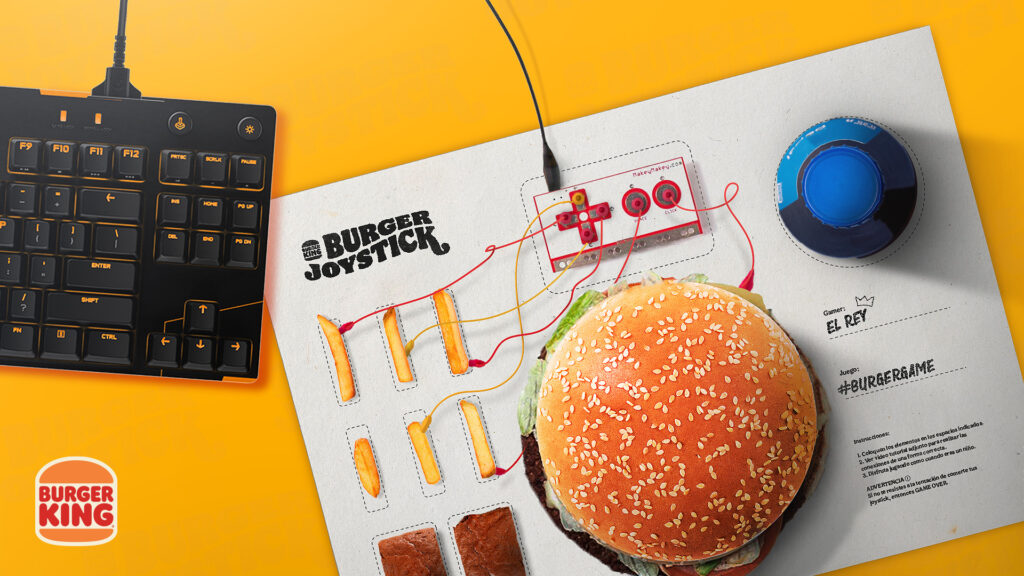 Burger joystick